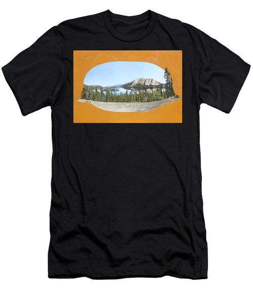 Bove Island Alaska Men's T-Shirt (Athletic Fit)