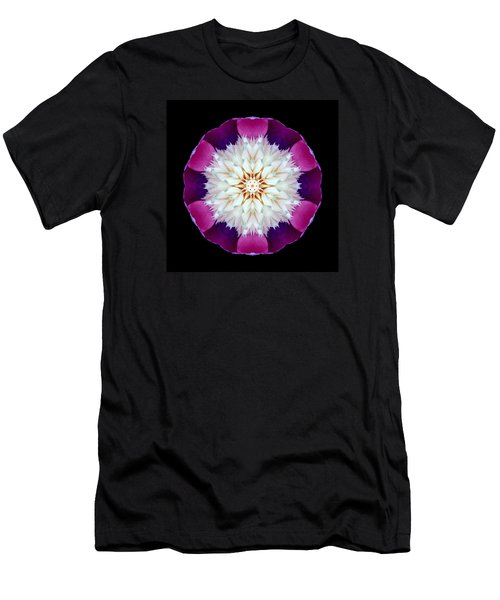 Bowl Of Beauty Peony II Flower Mandala Men's T-Shirt (Athletic Fit)