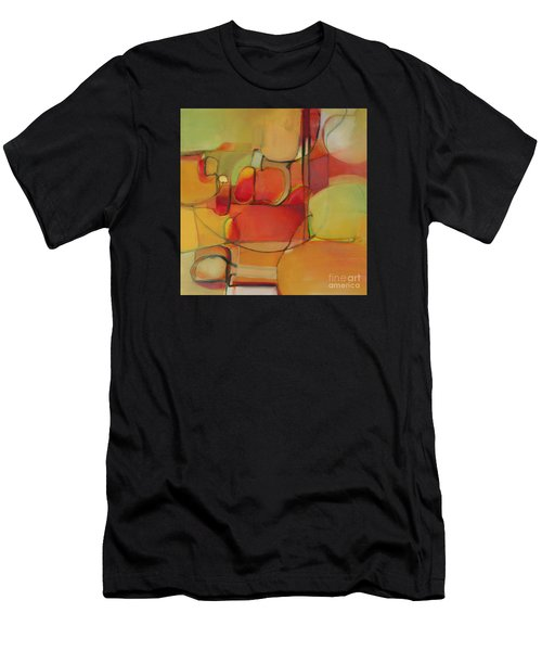 Men's T-Shirt (Athletic Fit) featuring the painting Bowl Of Fruit by Michelle Abrams