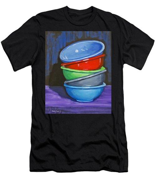 Bowls Men's T-Shirt (Athletic Fit)