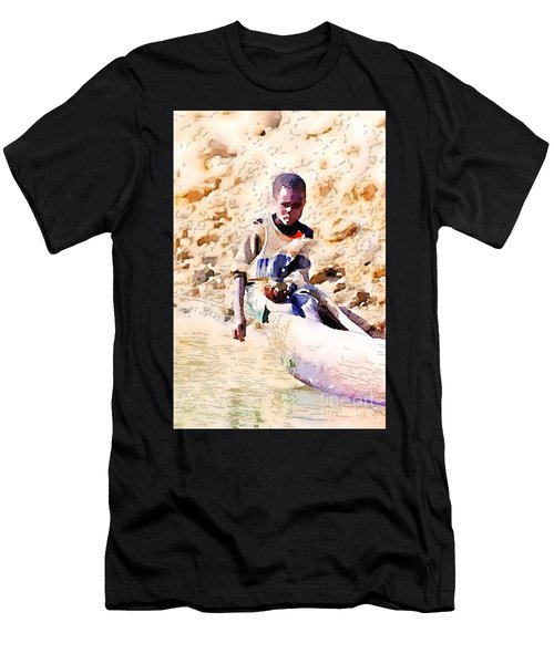 Boy In The Boat Men's T-Shirt (Athletic Fit)