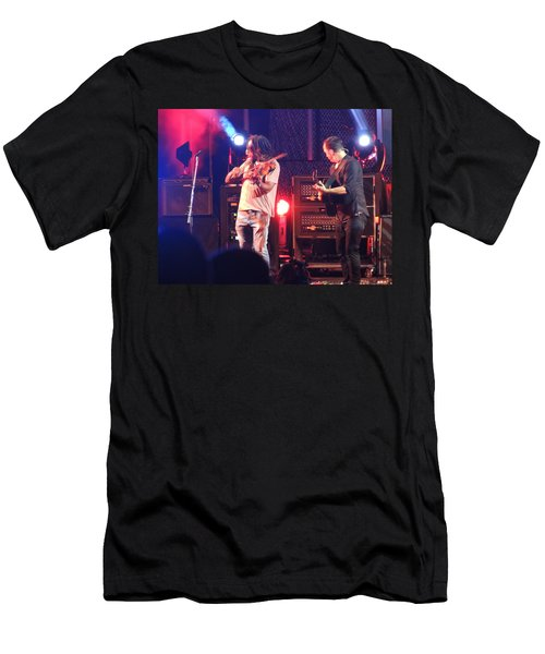 Men's T-Shirt (Slim Fit) featuring the photograph Boyd And Dave by Aaron Martens