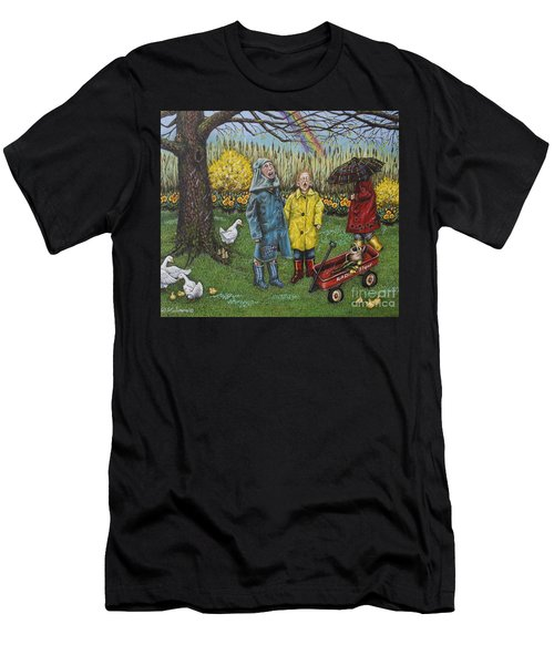 Boys Are What Ever Men's T-Shirt (Slim Fit) by Linda Simon
