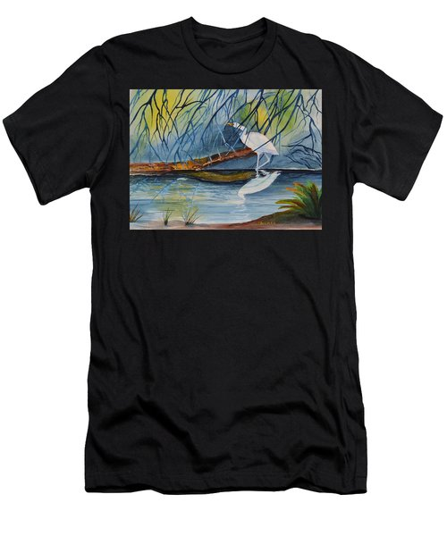 Branching Off Men's T-Shirt (Athletic Fit)