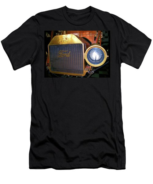 Men's T-Shirt (Slim Fit) featuring the photograph Brass Eye by Larry Bishop