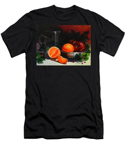 Breakfast Fruits, Peru Impression Men's T-Shirt (Athletic Fit)