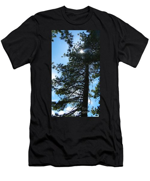 Men's T-Shirt (Slim Fit) featuring the photograph Breakthrough by Bobbee Rickard