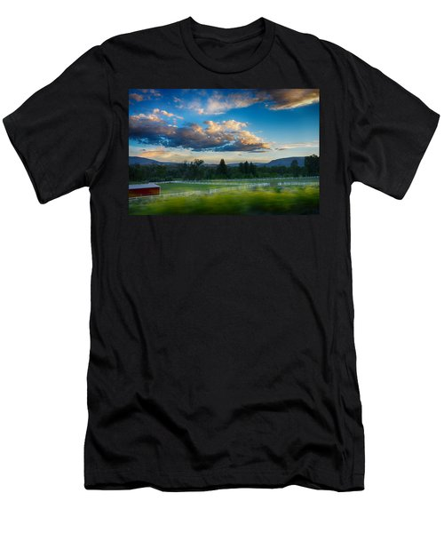 Breathtaking Colorado Sunset 1 Men's T-Shirt (Athletic Fit)