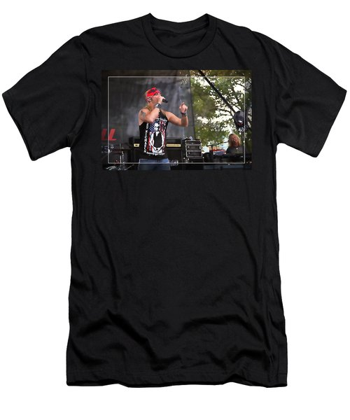 Bret Making Music Men's T-Shirt (Athletic Fit)