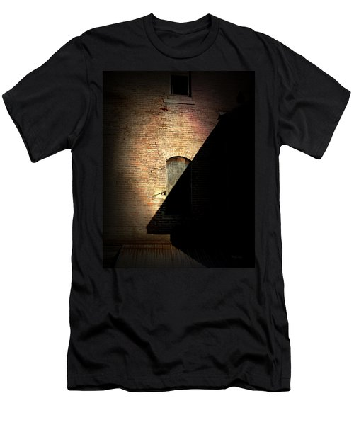 Brick And Shadow Men's T-Shirt (Athletic Fit)