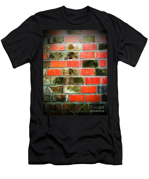 Brick Wall Men's T-Shirt (Athletic Fit)