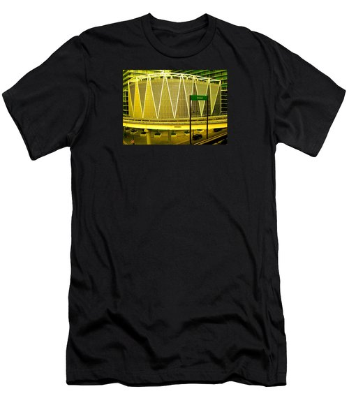 Brickell Station In Miami Men's T-Shirt (Athletic Fit)