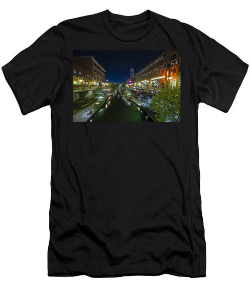 Bricktown Canal Men's T-Shirt (Athletic Fit)