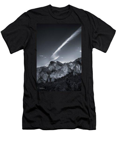 Accent On Bridal Veil Falls Men's T-Shirt (Athletic Fit)