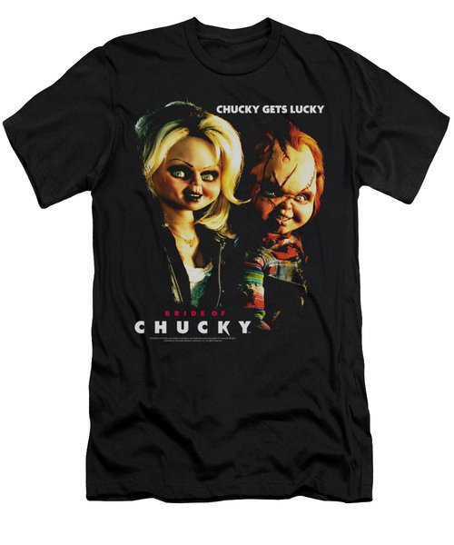 Bride Of Chucky - Chucky Gets Lucky Men's T-Shirt (Athletic Fit)