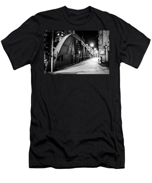 Bridge Arches Men's T-Shirt (Slim Fit) by Melinda Ledsome
