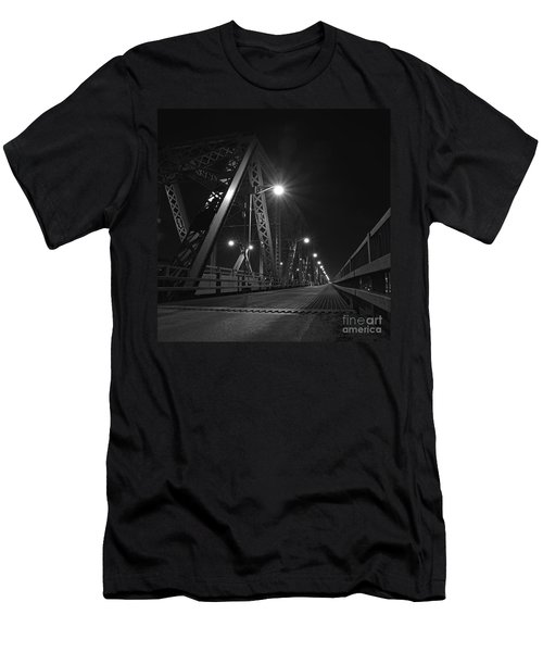 Bridge Night Men's T-Shirt (Athletic Fit)