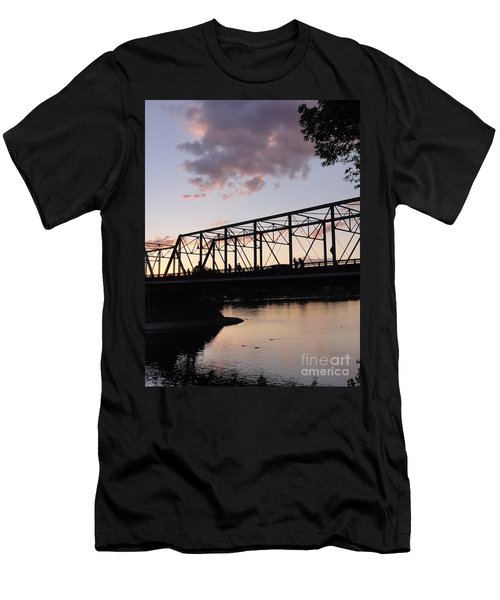 Bridge Scenes August - 1 Men's T-Shirt (Athletic Fit)