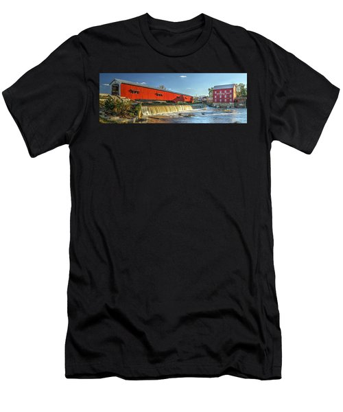 Bridgeton Bridge And Mill Men's T-Shirt (Athletic Fit)