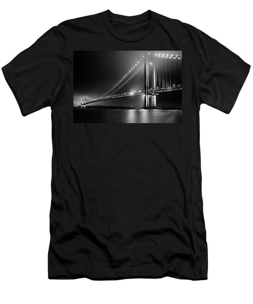 Bridging Verrazano Narrows Men's T-Shirt (Athletic Fit)