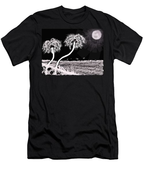 Bright Night In The Tropics Men's T-Shirt (Athletic Fit)