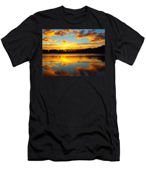 Men's T-Shirt (Slim Fit) featuring the photograph Brilliant Sunrise by Dianne Cowen