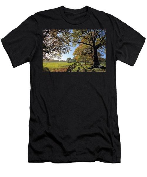 British Autumn Men's T-Shirt (Athletic Fit)