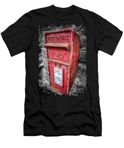 British Post Box Men's T-Shirt (Athletic Fit)