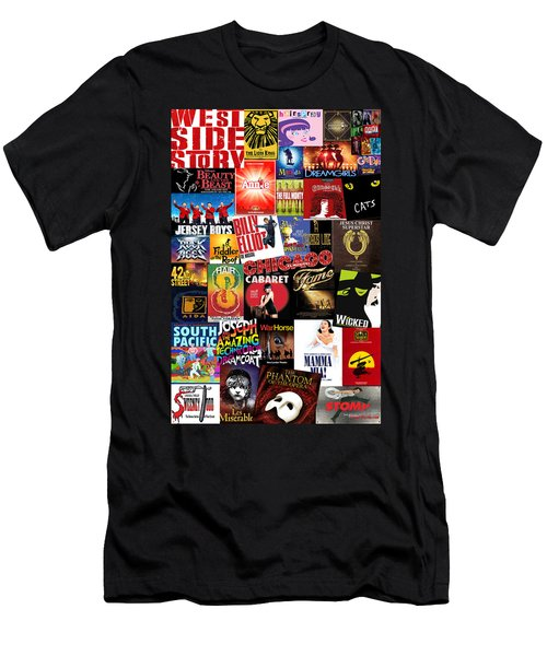 Broadway 4 Men's T-Shirt (Athletic Fit)