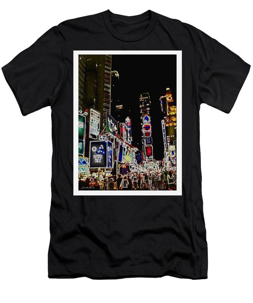 Broadway Men's T-Shirt (Athletic Fit)