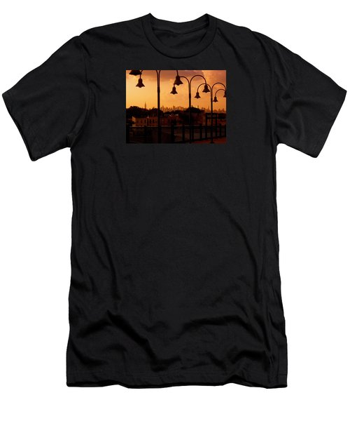 Broadway Junction In Brooklyn, New York Men's T-Shirt (Athletic Fit)