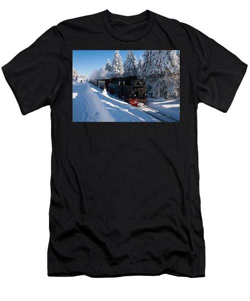 Brockenbahn Men's T-Shirt (Athletic Fit)