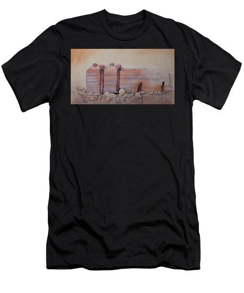 Broken Dock Seward Alaska Men's T-Shirt (Athletic Fit)
