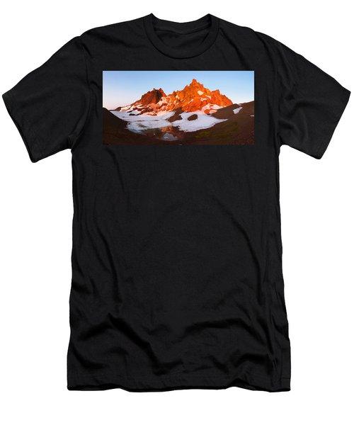 Broken Top Mt. Sunrise Men's T-Shirt (Athletic Fit)