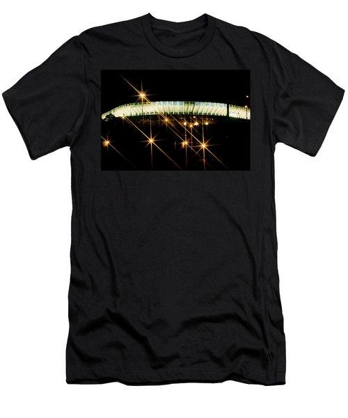 Bronx Night  Iv Yankee Stadium Men's T-Shirt (Athletic Fit)