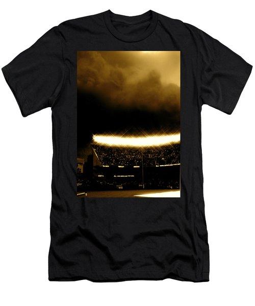 Bronx Storm Yankee Stadium  Men's T-Shirt (Athletic Fit)