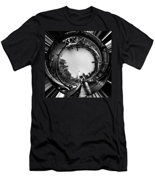 Brooklyn Bridge Circagraph 4 Men's T-Shirt (Athletic Fit)
