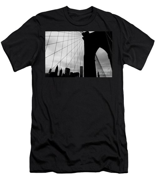 Brooklyn Bridge No.2 Men's T-Shirt (Athletic Fit)
