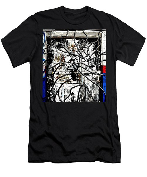 Broome Street Found Art Nyc Men's T-Shirt (Slim Fit) by Steve Archbold
