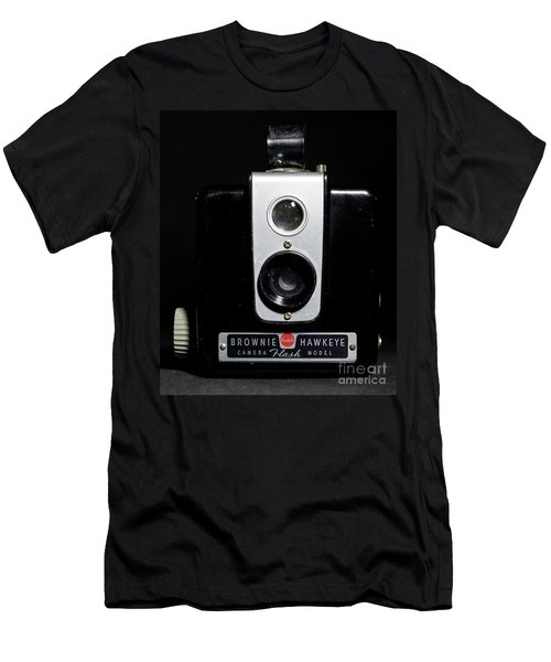 Brownie Hawkeye Flash Camera Men's T-Shirt (Athletic Fit)