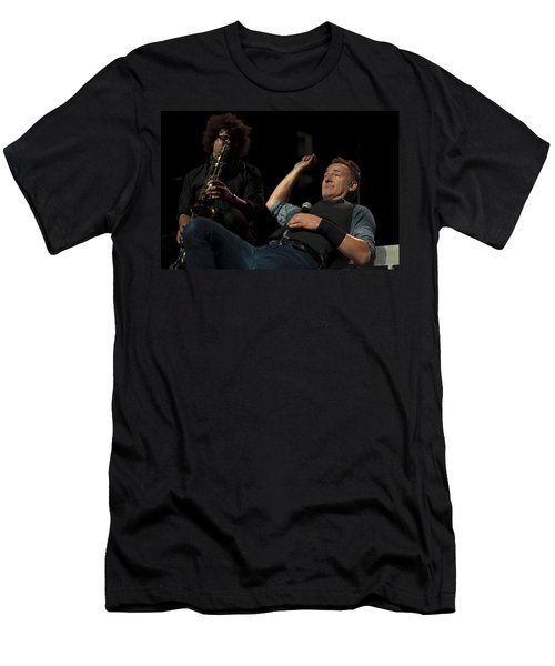 Bruce And Jake At Greasy Lake Men's T-Shirt (Athletic Fit)
