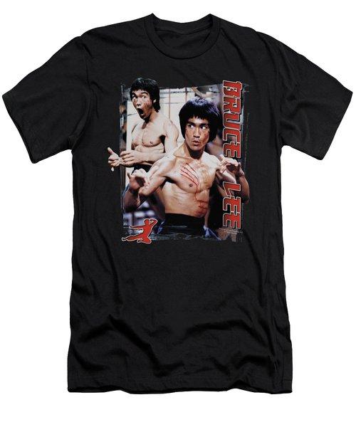 Bruce Lee - Enter Men's T-Shirt (Athletic Fit)