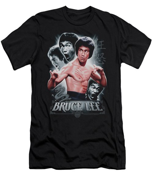 Bruce Lee - Inner Fury Men's T-Shirt (Athletic Fit)