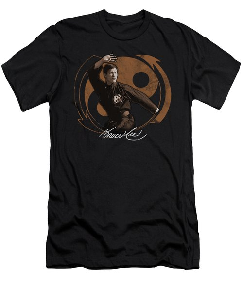 Bruce Lee - Jeet Kun Do Pose Men's T-Shirt (Athletic Fit)