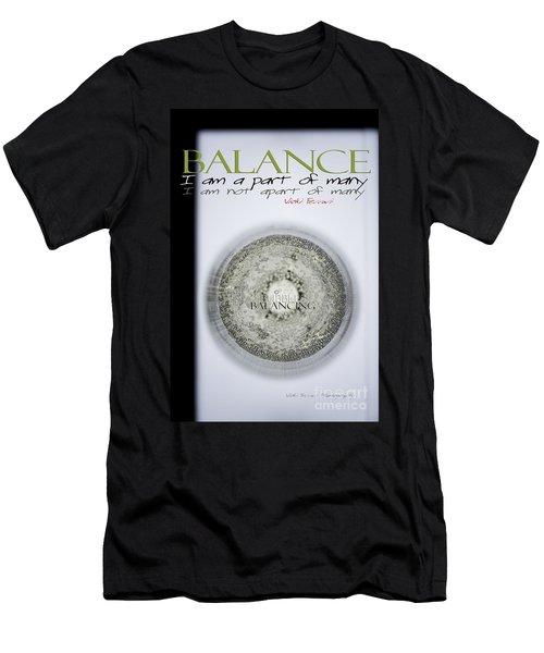 Bubbles Balance Bubbles Men's T-Shirt (Athletic Fit)