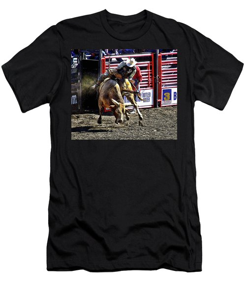 Buckin Bull Men's T-Shirt (Athletic Fit)