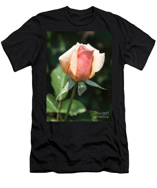 Budding Romance Men's T-Shirt (Athletic Fit)