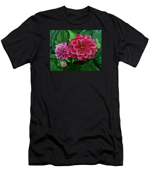 Buds And Blossoms Men's T-Shirt (Athletic Fit)