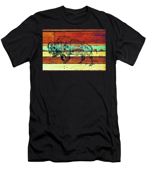 Men's T-Shirt (Slim Fit) featuring the drawing The Great Gift by Larry Campbell