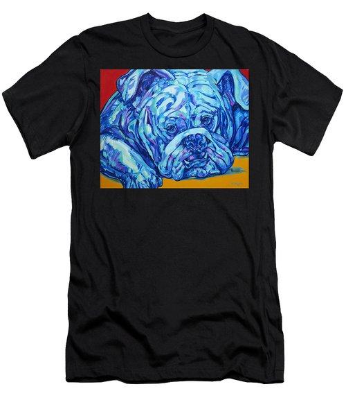 Bulldog Blues Men's T-Shirt (Athletic Fit)